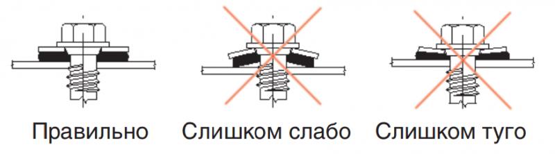 Инструкция по монтажу металлочерепицы