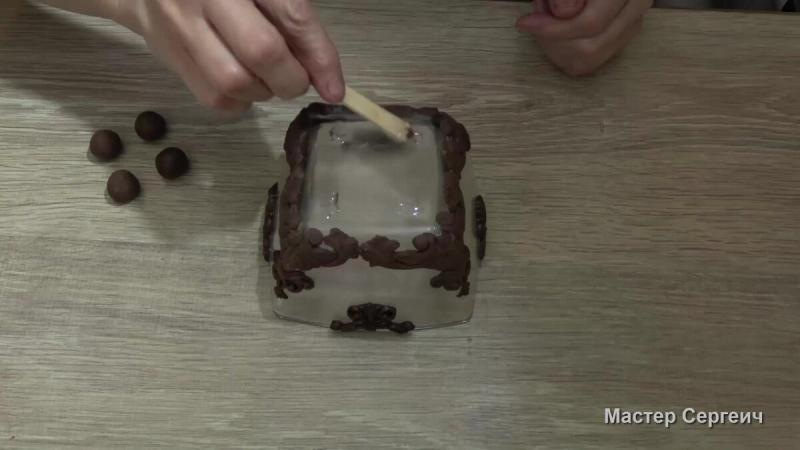 Из обычной стеклянной салатницы сделали шикарный подсвечник для дома