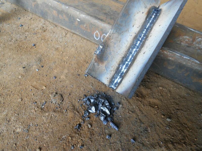 Как самоучке отличить металл от шлака при сварке электродом.