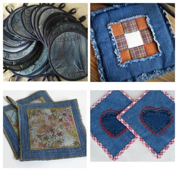 Не выбрасывайте старые джинсы. Хэнд-мейд для рукодельниц.