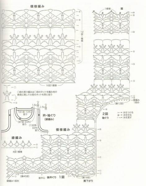 Подборка нежных японских ажуров