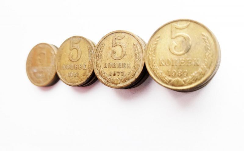 Стоит поискать эти 5 копеек среди советской мелочи