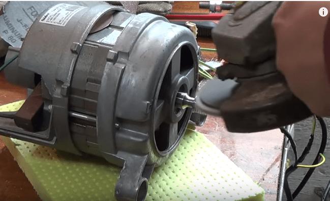 Что можно сделать из двигателя стиральной машинки