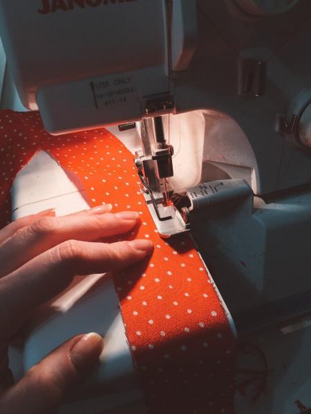 Дневник прошедших выходных: платье из бабушкиного сундука + покупка новых тканей
