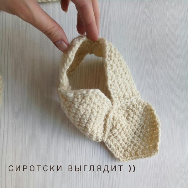 """Домашние """"ботинки"""" спицами, из шестиугольников! Можно и крючком"""