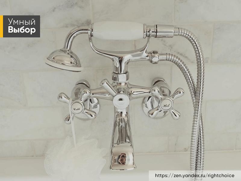 Как выбрать смеситель для ванной комнаты: подбор моделей с душем и без
