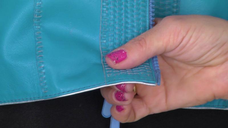 Новый вид отделки для изделий из кожи