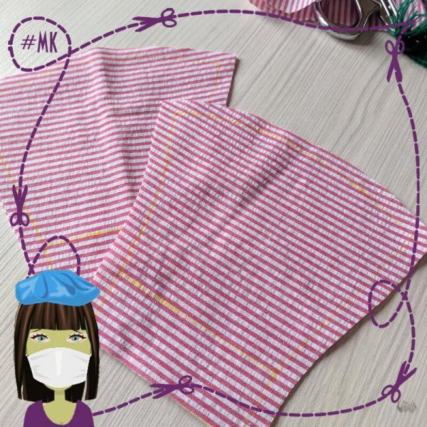 Шьем текстильную маску