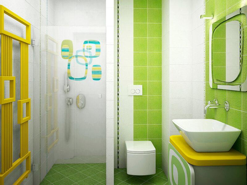 Ванная комната салатового цвета - как ее правильно обустроить?