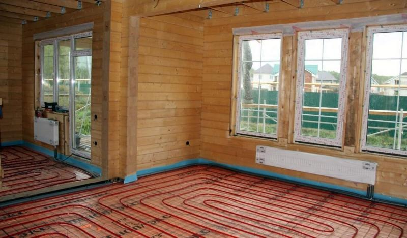 5 особенностей монтажа водяного отопления в деревянном доме