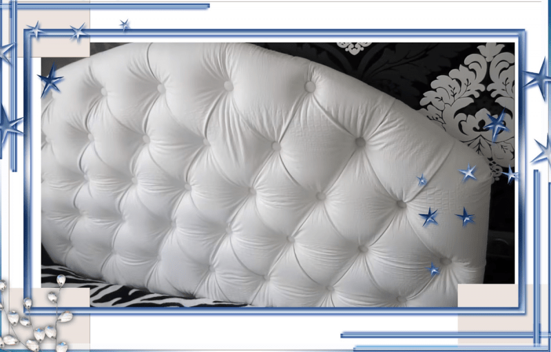 Царское изголовье кровати, сделанное собственными руками.