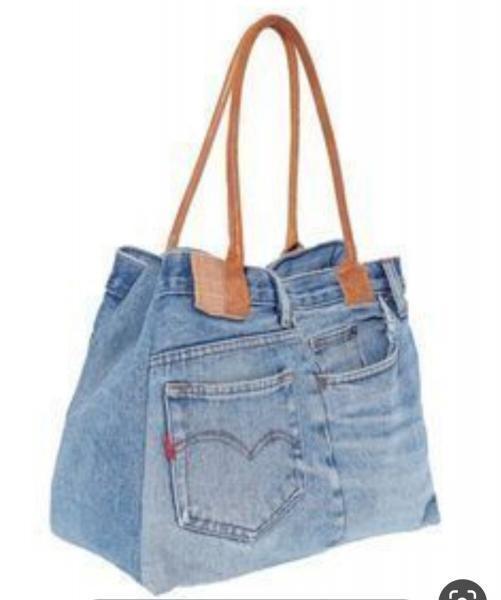 И снова про старые джинсы. Придумываем применение отслужившей вам вещи