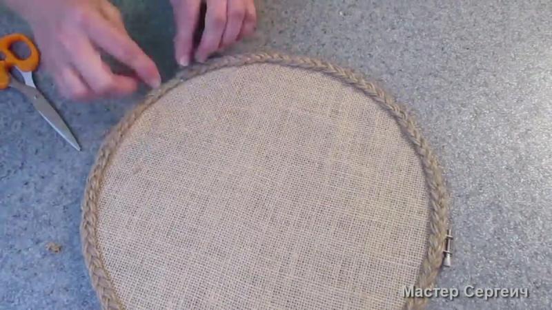 Интерьерный декор для дома из простых материалов