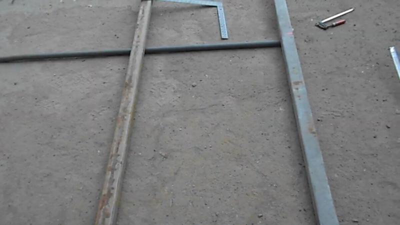 Как без уровня выставить идеально ровную плоскость для сварки металла