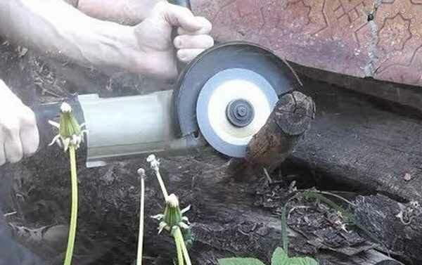 Как безопасно резать дерево болгаркой, и какой диск лучше использовать