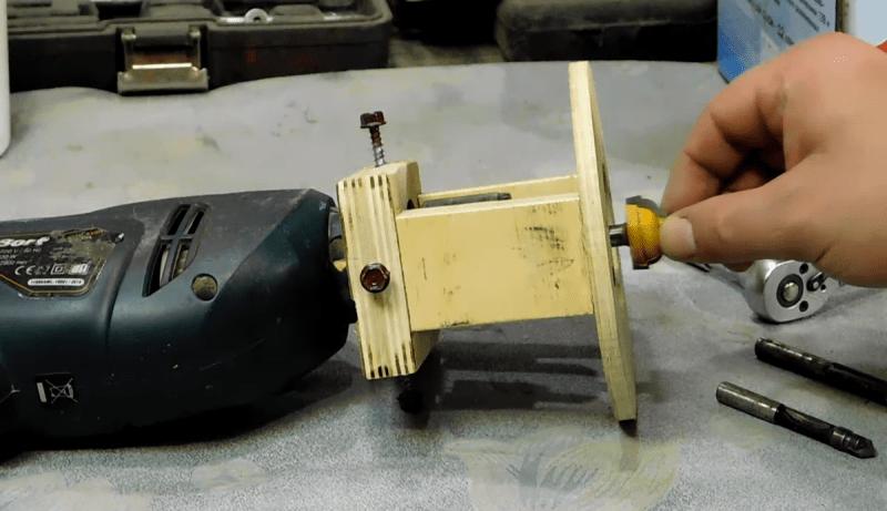 Как сделать ручной ФРЕЗЕР своими руками в домашних условиях