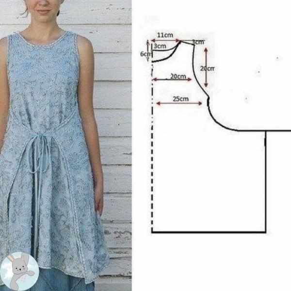 Нашла чудесные супер выкройки для быстрого пошива одежды — делюсь ими с вами