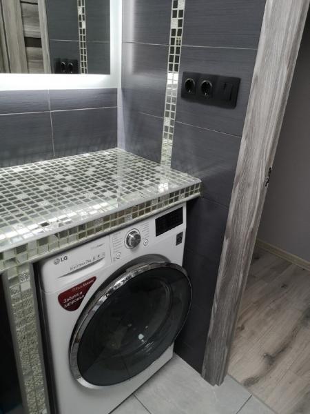 """Сделали ремонт ванной в """"хрущевке"""" со сносом стены. Вот какой результат."""