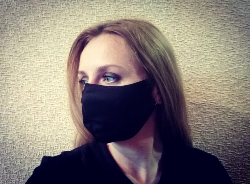 Шьем многоразовую защитную маску за 10 минут 😷