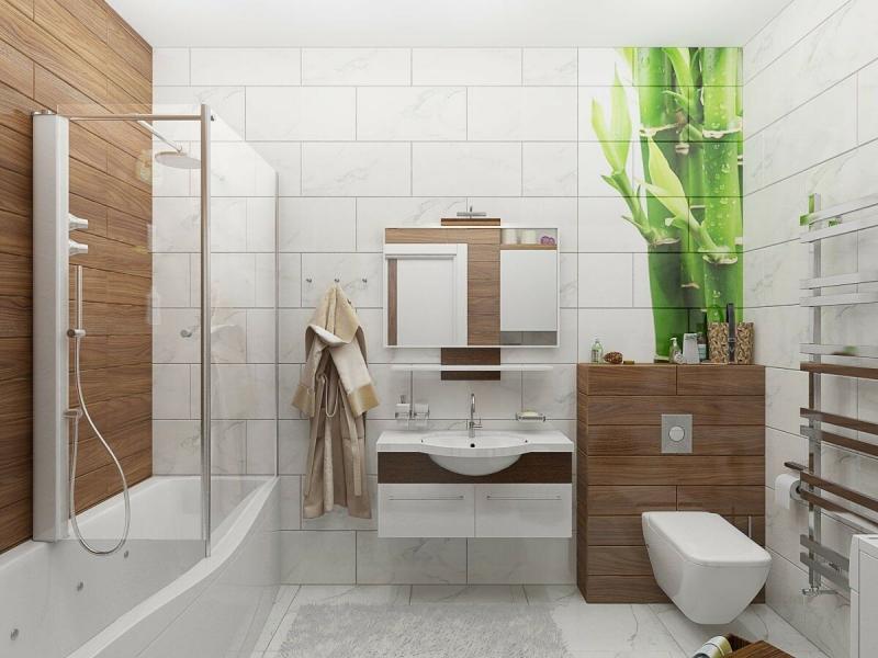 Ванная комната: баланс эстетики и эргономики