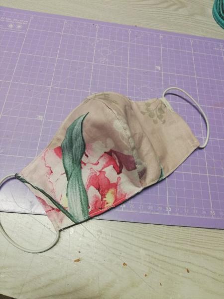 Как сшить многоразовую маску с карманом под фильтр. Подробный МК, схема на мужской, женский и детский размер