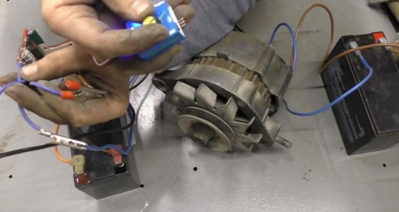 Мотор из генератора своими руками   Делаем электродвигатель