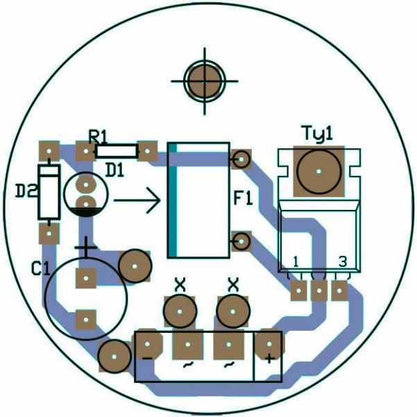 Автоматический выключатель освещения