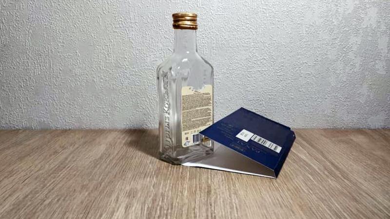 Обычную бутылочку превратили в настоящую красоту. Получился просто шедевр