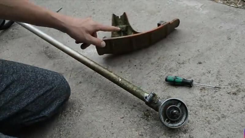 Ручной роторный триммер для прополки травы, полоть картошку теперь будет проще, в помощь на огород