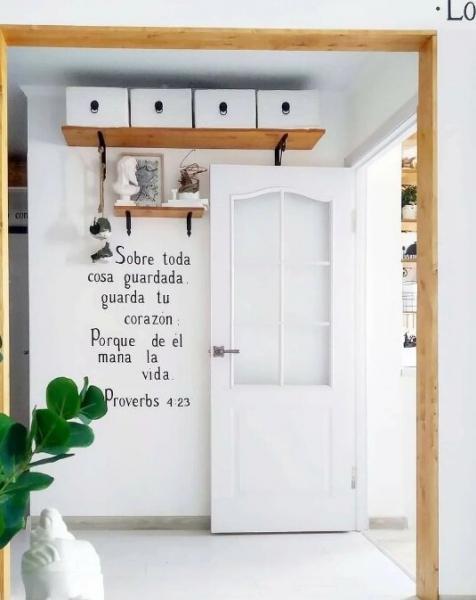 Сами сделаем наш дом красивым. Немного несложных идей :)