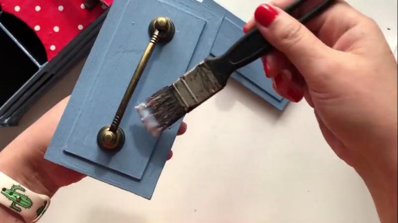 Чайная коробка из картона своими руками