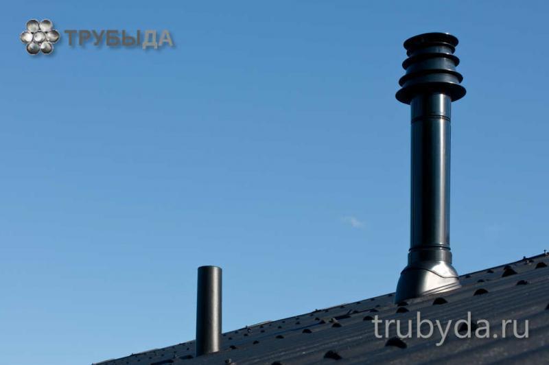 Какой тип труб для дымохода лучше?