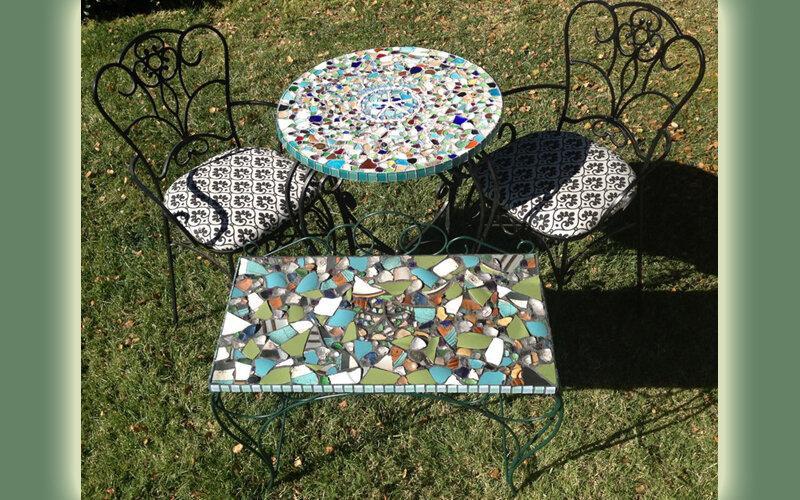 Остатки керамической плитки: зачем выбрасывать то, что может пригодиться на даче – оригинальные варианты использования