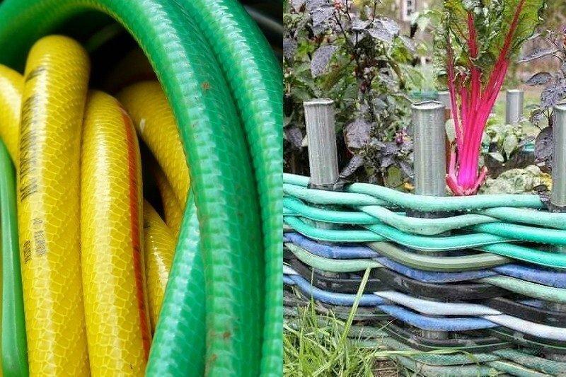 Поделки своими руками из старого садового шланга: 9 практичных и креативных идей для дома и дачного участка