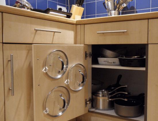 Подставка для бумаг для хранения досок и другие кухонные лайфхаки