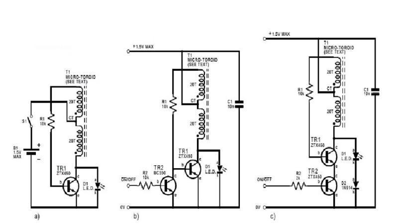 Схемы З.Капарника для питания светодиодов Низковольтным напряжением