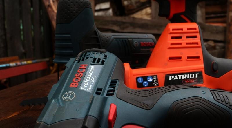 У меня две системы электроинструмента: Bosch 120-Li и Patriot UES. Рассказываю почему именно они