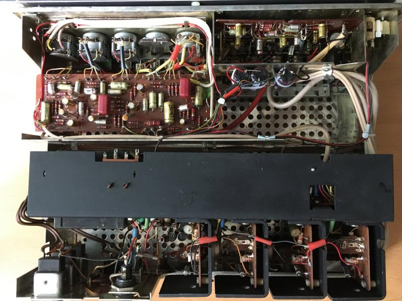 Усилитель из Германии на германиевых транзисторах: Grundig SV-50