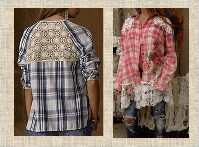 50 идей для переделки клетчатой рубашки - шьем любимые модели и силуэты