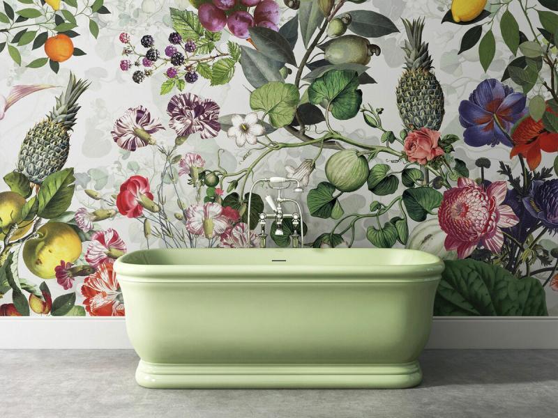 Цветная сантехника: практично или нет