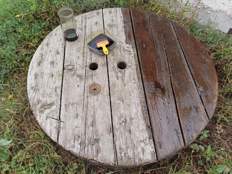 Хорошее защитное покрытие для древесины своими руками, практически даром и навсегда