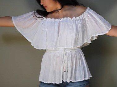 Как из юбки сделать сарафан, платье, блузку или другую юбку. 6 идей обновления вещей.