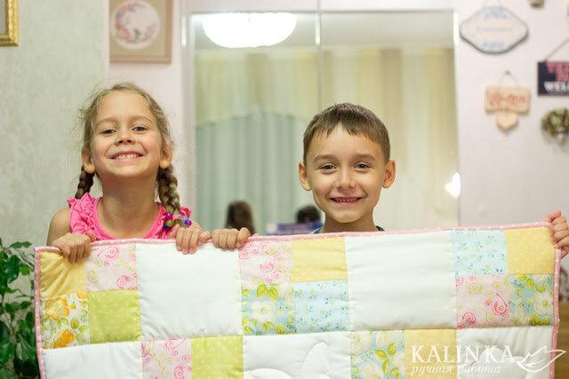 Как я сшила детское одеяло за 2 дня