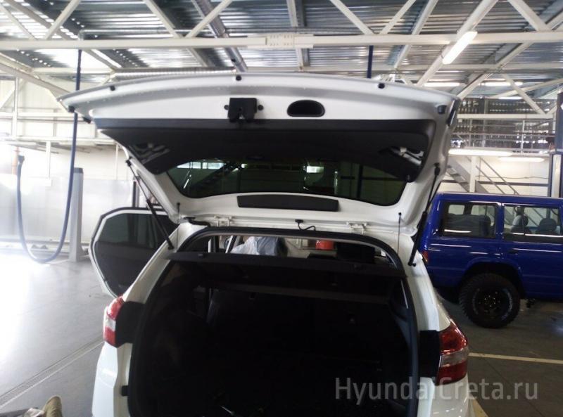 Как открыть багажник Хендай Крета из салона? Фото и видео решения проблемы