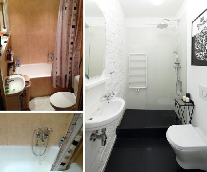 Как преобразовать маленькую ванную, чтобы она стала комфортной