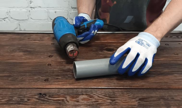 Как соединить две одинаковые трубы без соединителя и муфты. Полезный совет, берём на заметку