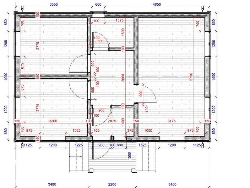 Каркасная стена в каркасном доме 6х9 по СНиП 31-105🔥. Видео-урок проектирования дома своими руками