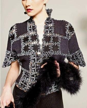 """Комбинируем """"ткань + вязание"""": идеи для вашей копилочки"""
