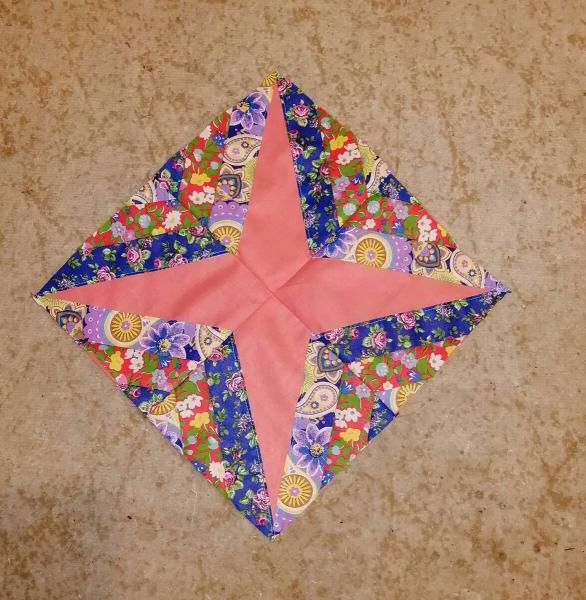 """Лоскутное шитье - пробуем собрать одеяло со """"звездами"""" из блоков"""