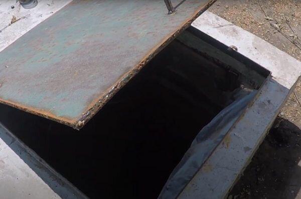 Монтаж бетонного бассейна открытого типа